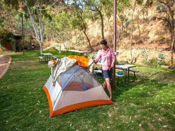 Standley Chasm Angkerle Camping - Melbourne Tourism