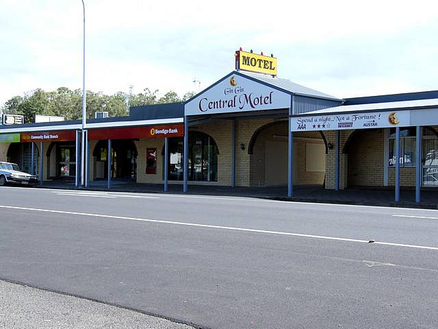Gin Gin Central Motel - Melbourne Tourism