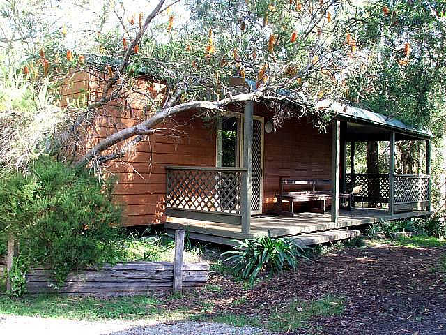 Jervis Bay Cabins  Hidden Creek Campsite - Melbourne Tourism