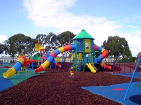 Millicent Mega Playground in The Domain - Melbourne Tourism