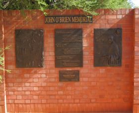 John OBrien Commemorative Wall - Melbourne Tourism