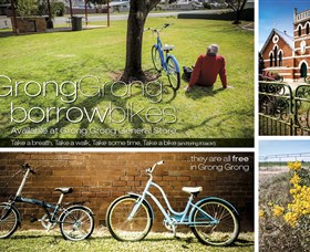 Grong Grong Borrow Bikes - Melbourne Tourism