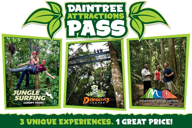 Daintree Atttractions Pass The Best of the Daintree in a Day - Melbourne Tourism