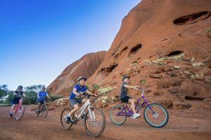Outback Cycling Uluru Bike Ride Adult - Melbourne Tourism