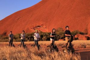 Sunset Segway Experience in Uluru from Yulara - Melbourne Tourism