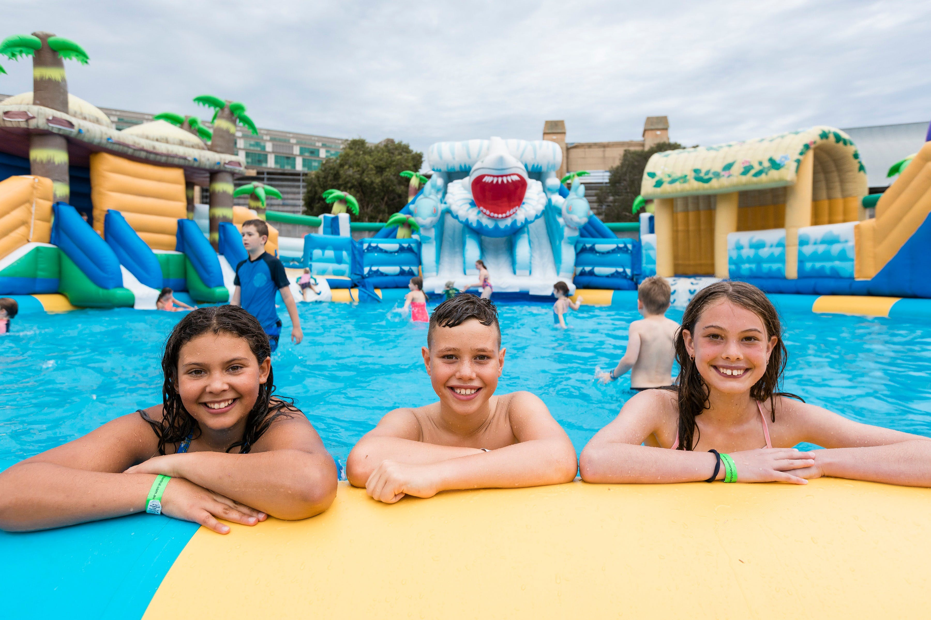 Waterworld Central - Mobile Inflatable Waterpark - Melbourne Tourism