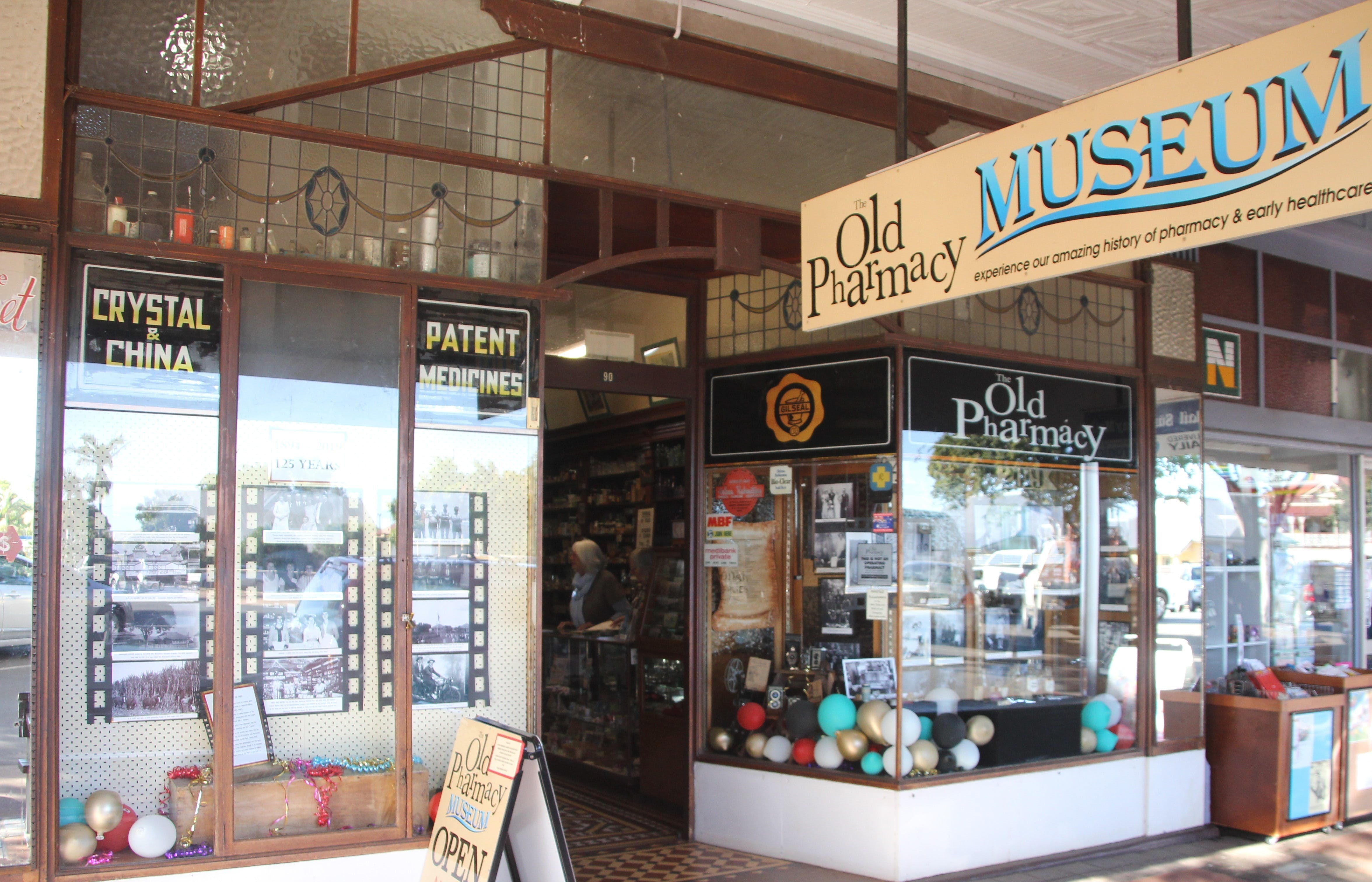 Old Pharmacy Museum  Childers - Melbourne Tourism