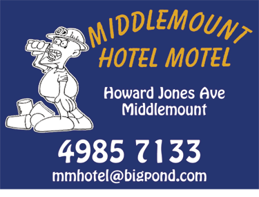 Middlemount Hotel Motel Accommodation - Melbourne Tourism