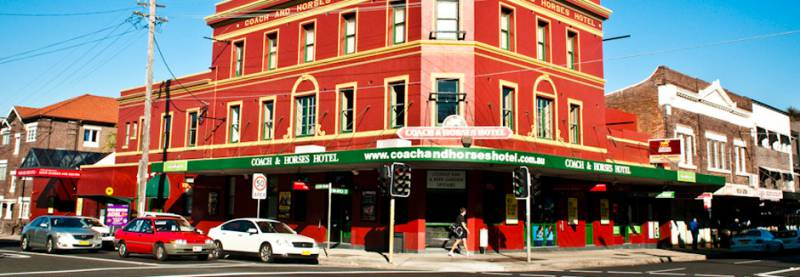 The Coach  Horses Hotel - Melbourne Tourism