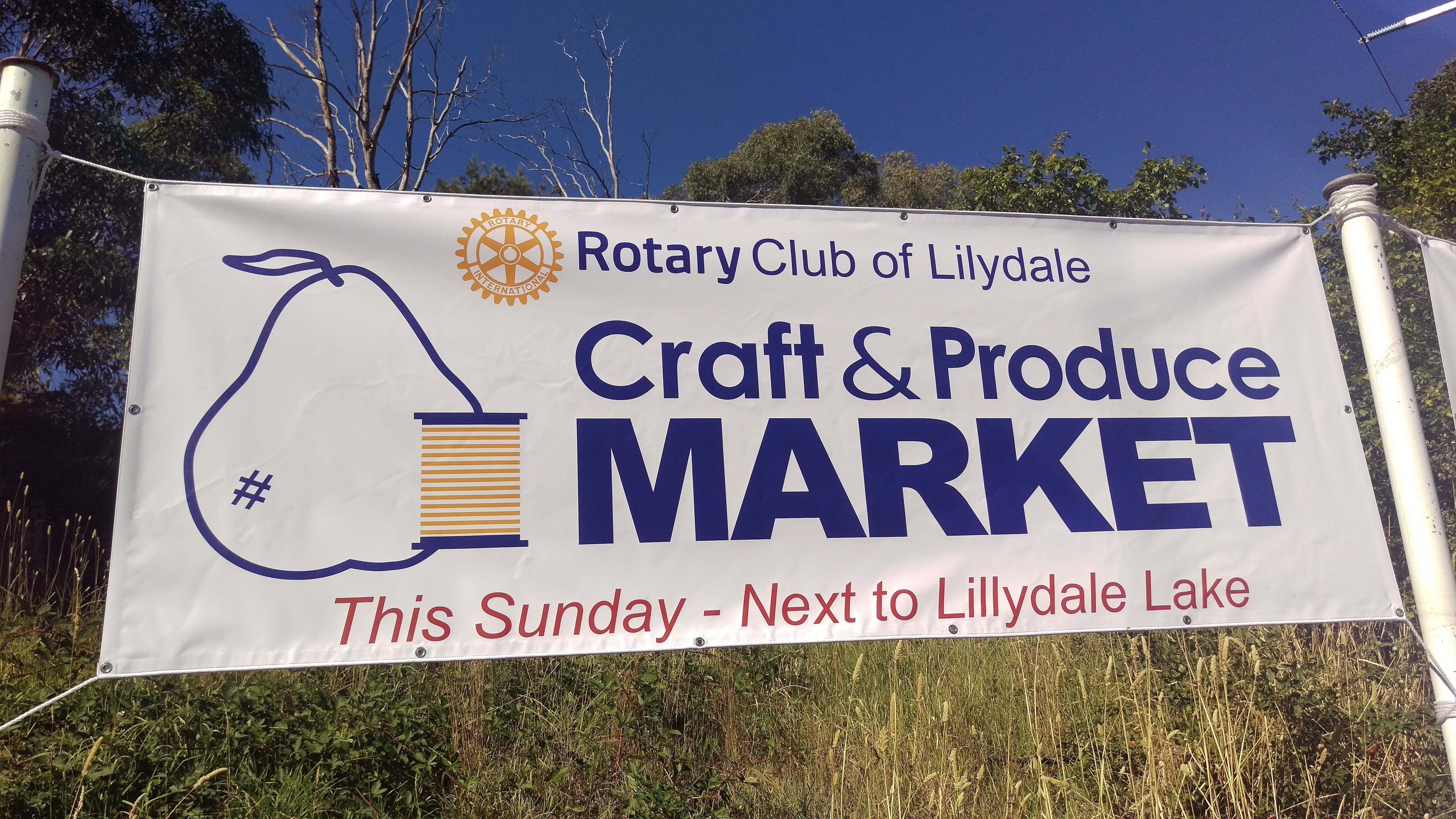 Rotary Club of Lilydale Craft and Produce Market - Melbourne Tourism