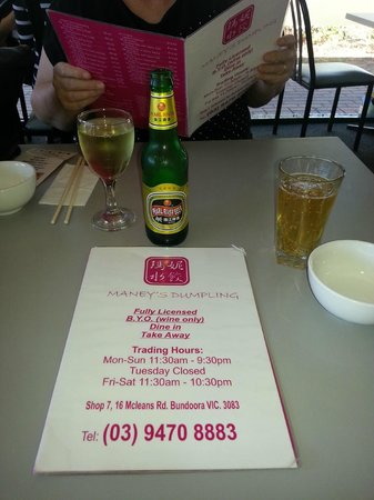 Maney Dumpling Chinese Restaurant - Melbourne Tourism