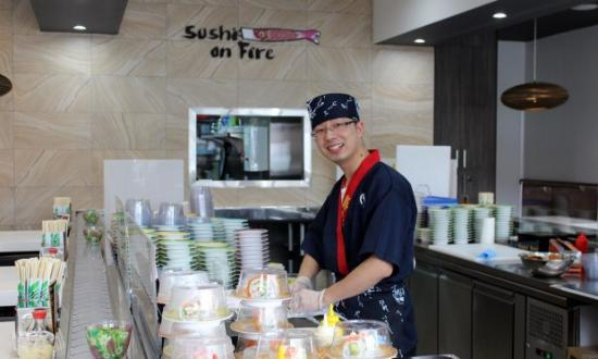 Sushi On Fire - Melbourne Tourism