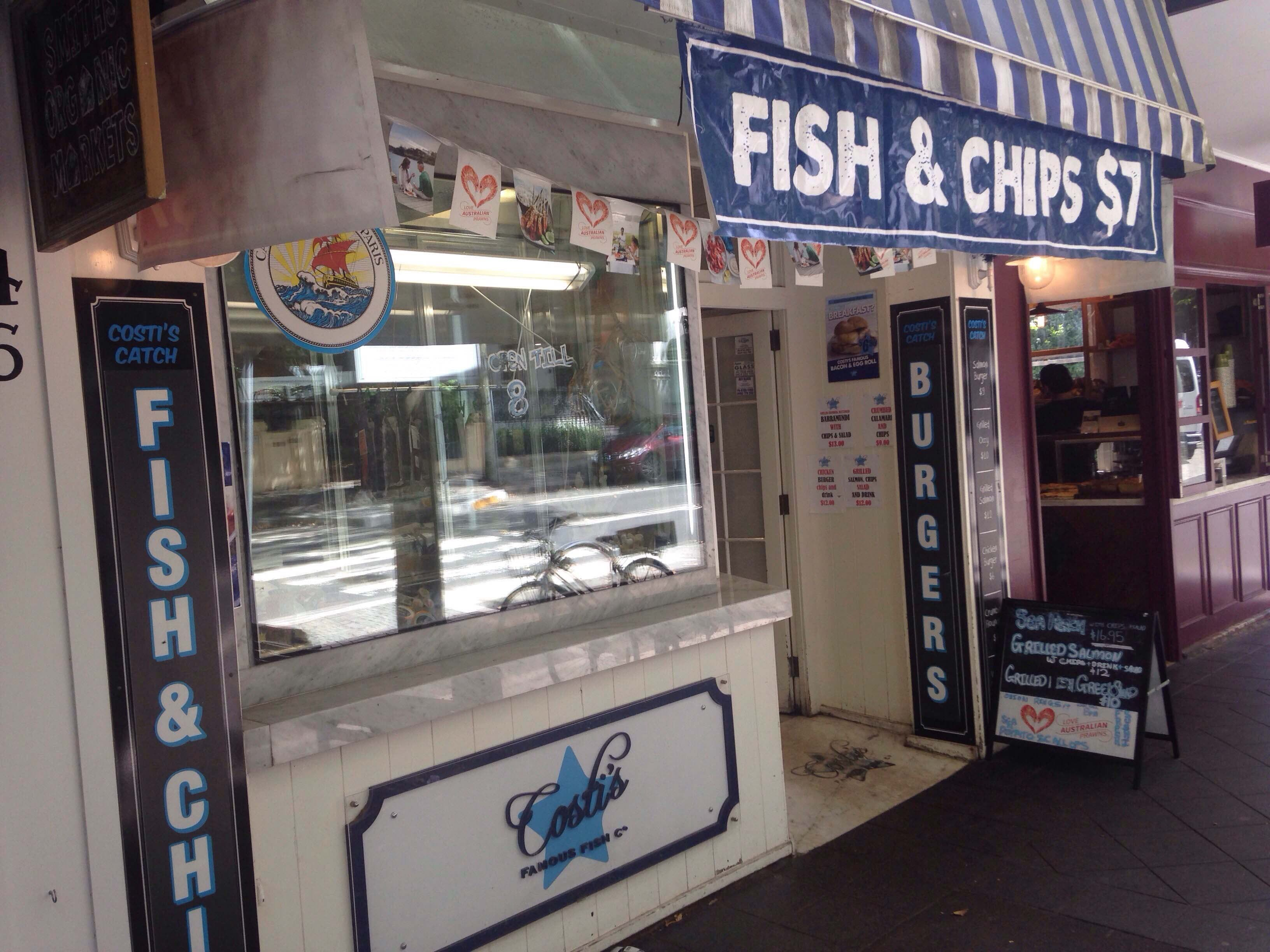 Costi's Famous Fish Co. - Woollahra - Melbourne Tourism
