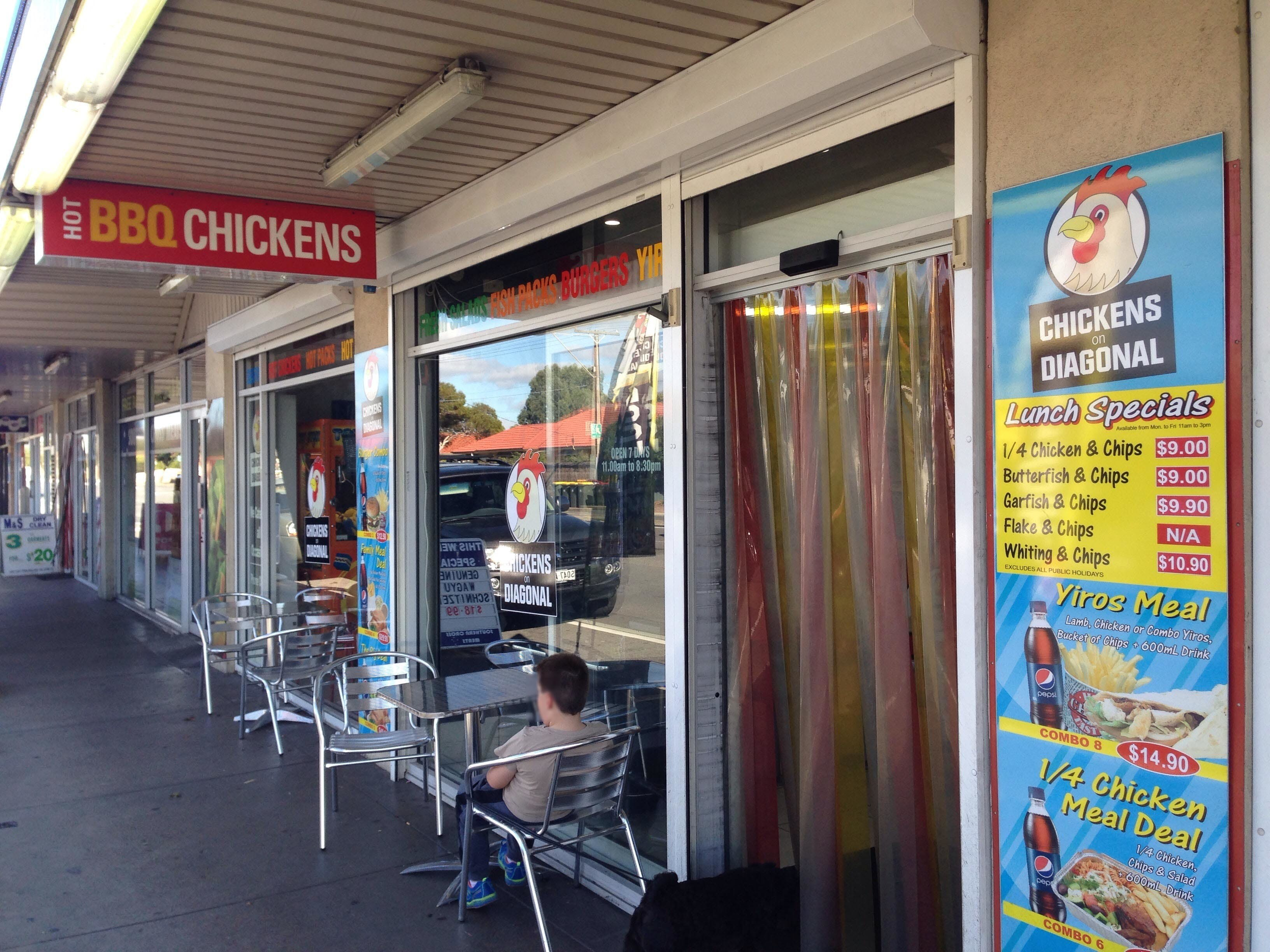 Chickens on Diagonal - Melbourne Tourism