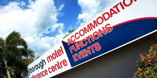 Maryborough Motel  Conference Centre - Melbourne Tourism