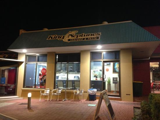 King Neptune's Seafood  Pasta - Melbourne Tourism